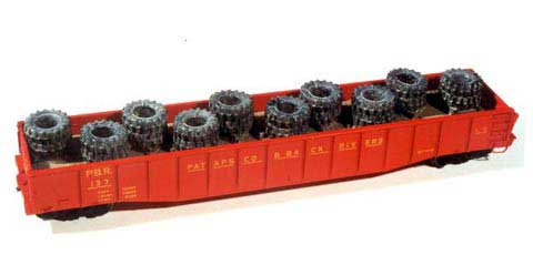 Heavy Tire Load (HO), Chooch Model Train Accessories Item Number CHO7236