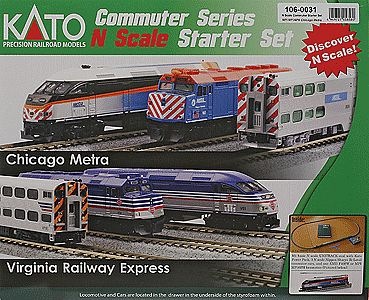 Mp36ph Bi-Level Comm Chic Ts N, Kato Precision Railroad Models Item Number KAT1060031