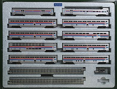 Amtrak El Capita10car Set N, Kato Precision Railroad Models Item Number KAT106079