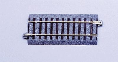 94mm 3 11/16 Straight Track HO, Kato Precision Railroad Models Item Number KAT2111