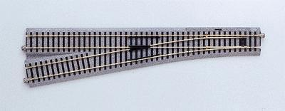 #6 Manual Turnout Lh 34 1/8 HO, Kato Precision Railroad Models Item Number KAT2862
