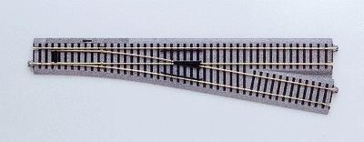 #6 Manual Turnout Rh 34 1/8 HO, Kato Precision Railroad Models Item Number KAT2863