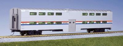 Bi-Level Coach Amtk Phase 3 HO, Kato Precision Railroad Models Item Number KAT356031