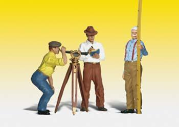 Hilow Bros. Surveying Co (G), Woodland Scenic Item Number WOO2556