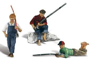 Fishing Buddies ## (G), Woodland Scenic Item Number WOO2569