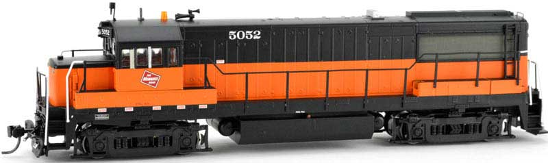 Ho U25b Milwaukee Red 5054 by Bowser Model Trains at