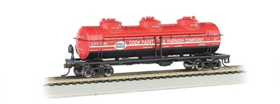 Ho 40 3 Dome Tank Cp&Vc, Bachmann Model Trains Item Number BAC17145