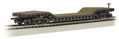 Ho 52 Dep Flatcar W/O Load, Bachmann Model Trains Item Number BAC18349