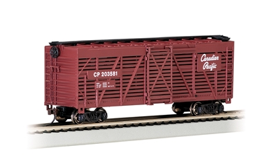 Ho Canadian Pacific - 40 Stock Car (HO Scale)