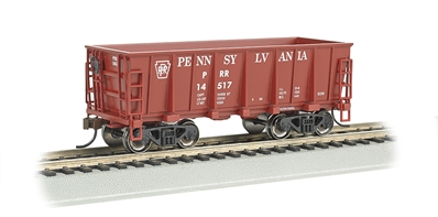 Ho Ore Car - Pennsylvania (Tuscan) #14517, Bachmann Model Trains Item Number BAC18605
