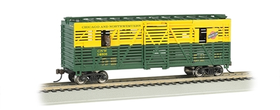 Ho 40animated Stock Car C&Nw, Bachmann Model Trains Item Number BAC19703