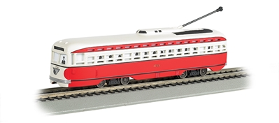 Ho Allegheny Transit - PCC Streetcar DCC Sound Value, Bachmann Model Trains Item Number BAC60505