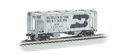Ho Burlington Northern - PS-2 Covered Hopper, Bachmann Model Trains Item Number BAC73502