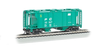 Ho Penn Central - PS-2 Covered Hopper, Bachmann Model Trains Item Number BAC73505