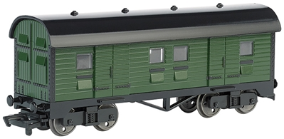 Ho Mail Car - Green, Bachmann Model Trains Item Number BAC77018