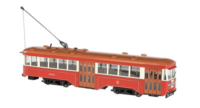 G Pw Streetcar Csl W/Dcc, Bachmann Model Trains Item Number BAC91704