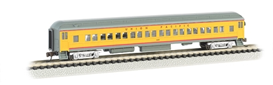 N 72 Heavyweight Coach With Lighted Interior - Union Pacific, Bachmann Model Trains Item Number BAC13755