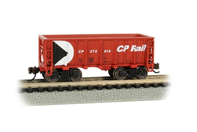 N Ore Car Cp R, Bachmann Model Trains Item Number BAC18652