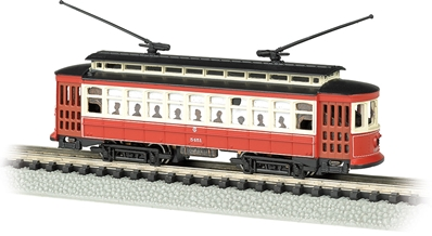 N Chicago - Brill Trolley, Bachmann Model Trains Item Number BAC61091