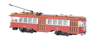 N Pw Street Car Chicago Surface Lines W/dcc, Bachmann Model Trains Item Number BAC84652