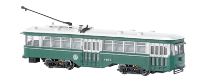 N Pw Street Car Brooklyn & Queens Transit - Peter Witt Streetcar - DCC, Bachmann Model Trains Item Number BAC84653