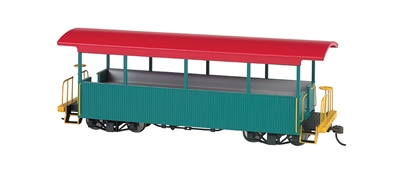 On30 Excursion Car Green, Bachmann Model Trains Item Number BAC26001