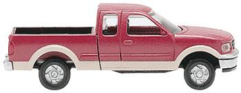 N Scale Ford F-150 Red/Tan