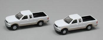 N Scale Ford F-150 Wht/Tan