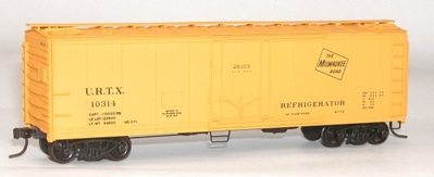 40pd Steel Reefer Milw HO, Accurail Model Trains Item Number ACU8509