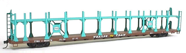 89Bi-level Auto Rack New York Central (HO), Accurail Model Trains Item Number ACU92051