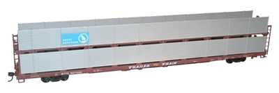 89 Bi-Level Auto Racks GnHO, Accurail Model Trains Item Number ACU9412