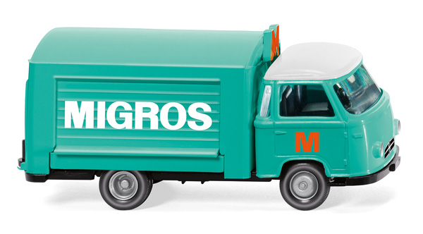 Migros - Borgward Sales Vehicle (1:87), WIKING, Item Number WIK027901