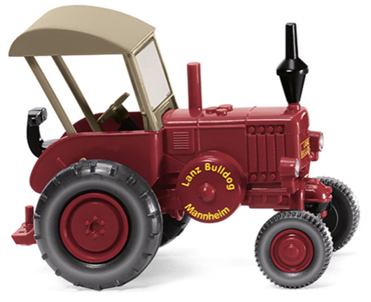 Lanz Bulldog Tractor with Roof (1:87)