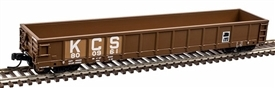 N Evans 52 Gondola, Kansas City Southern #800007, Atlas N Model Trains Item Number ATL50003043