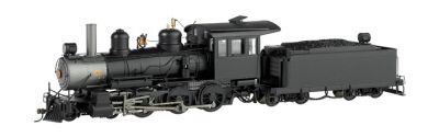 On30 Baldwin 4-6-0 Und StCab## by Bachmann Model Trains Item Number: BAC28696