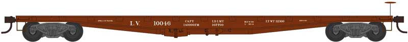 Ho 50Flat Car Lv 10025 Rtr, Bowser Model Trains, BOW41917