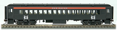Ho Branchline Coach Nh 196, Con-Cor Int Item Number CCI94229