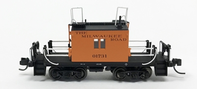 Ho TraFer Caboose Milw 01731, Fox Valley, FVM31165