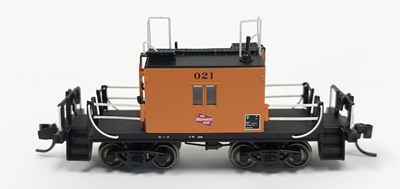 Ho TraFer Caboose Milw 021 Log, Fox Valley, FVM31168