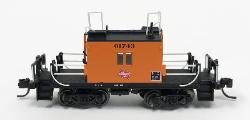 N TraFer Caboose Milw 01743, Fox Valley, FVM91166