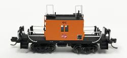 N TraFer Caboose Milw 01 Logo, Fox Valley, FVM91167