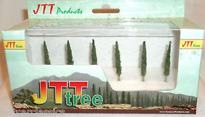 Z Scale Poplar 1.5 Pro Pack (6), JTT Item Number JTT94216