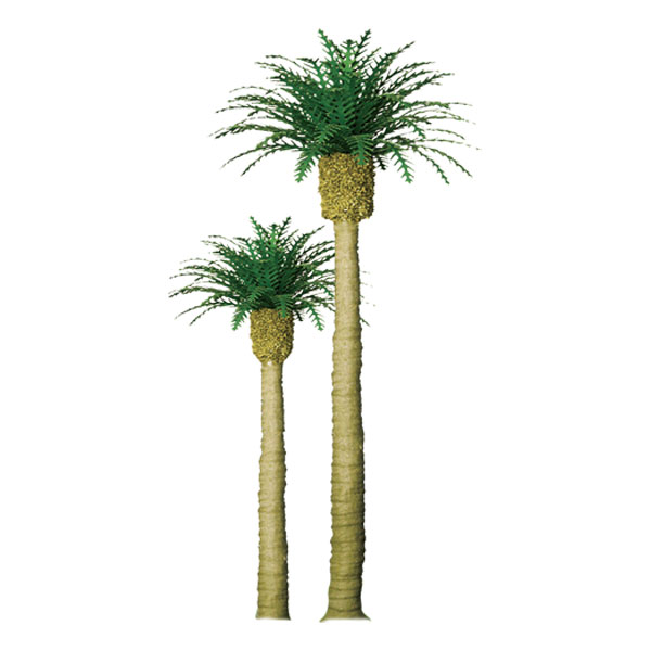 Z Scale Phoenix Palm 1 inch (6 pack), JTT Item Number JTT94351