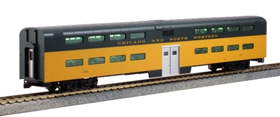 HO Bi-Level Coach C&NW #310 by Kato Precision Railroad Models Item Number: KAT356037