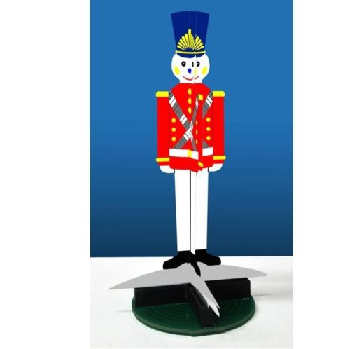 3D ANIMATED TOY SOLDIER by Miller Engineering <p> Item Number: MLR2012