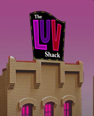 N  The Luv Shack Billboard, Miller Engineering Item Number MLR4482