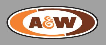 O A&W Root Beer Rotating Sign, Miller Engineering Item Number MLR55045