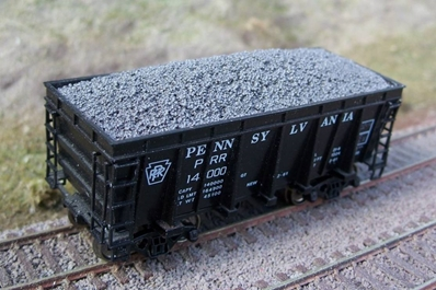 Ho Resin Taconite Loads for Athearn/MDC Hi-Side Ore Car (2-Pack)
