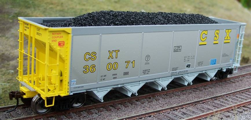 Ho Resin Coal Loads for ExactRail AutoFlood II Hopper (2-Pack)