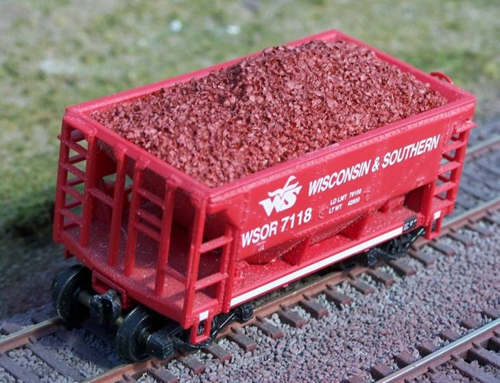 Ho Resin Ore Loads for Walthers Minnesota Ore Car (2-Pack)